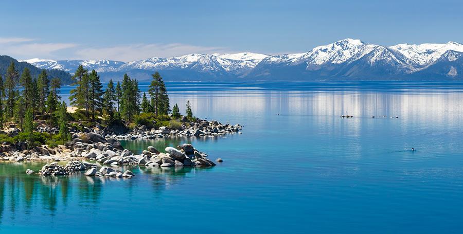 Paddle Boading Lake Tahoe