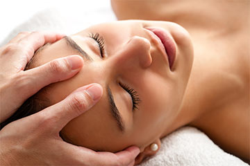Stress Relief Head and Face Massage